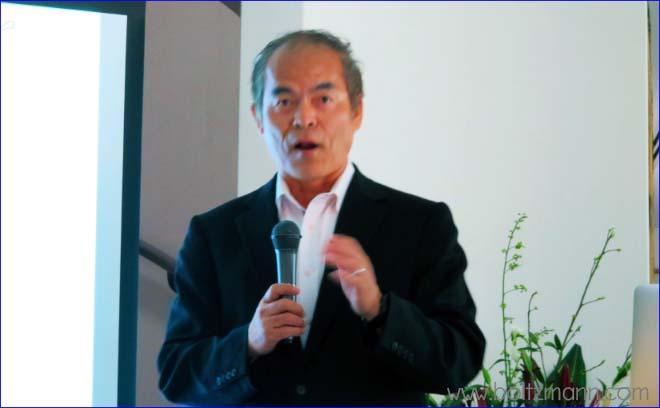 中村 修二、カリフォルニア大学サンタバーバラ校教授、青色発光ダイオードや青紫色半導体レーザーの発明者、2014年ノーベル賞受賞者
