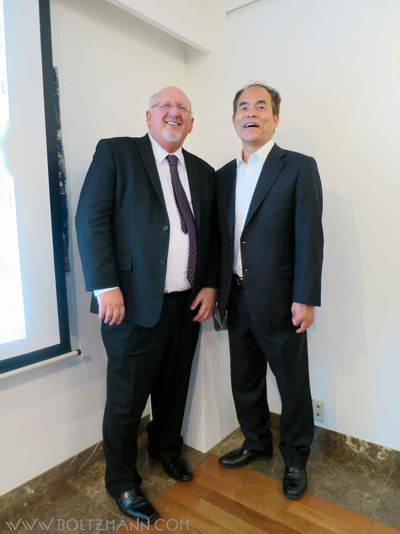 Chuck Casto and Shuji Nakamura