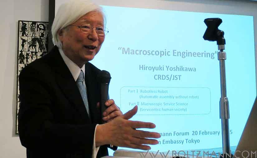 Hiroyuki Yoshikawa: Macroscopic Engineering