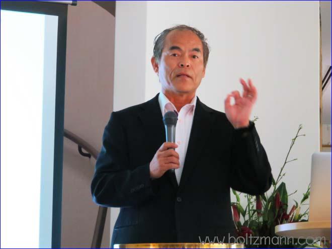 Shuji Nakamura at the 8th Ludwig Boltzmann Forum Tokyo