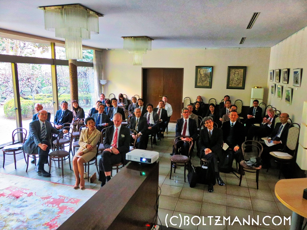 10th Ludwig Boltzmann Forum 2018, Tuesday 20 February 2018 at the Embassy of Austria in Tokyo
