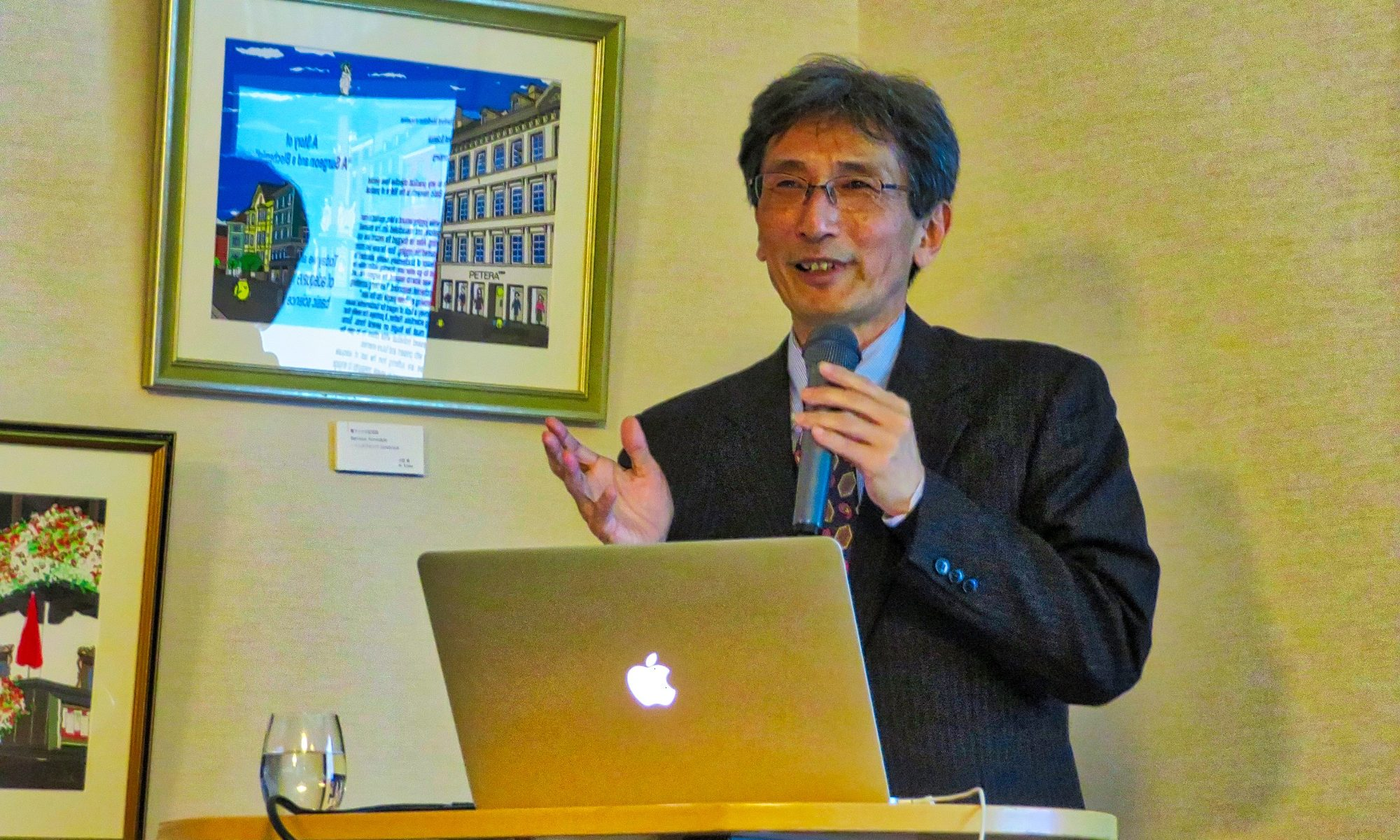 Hiroyuki Sasaki, Vice-President Kyushu University, Director of the Epigenome Network Research Center, Professor, Medical Institute of Bioregulation