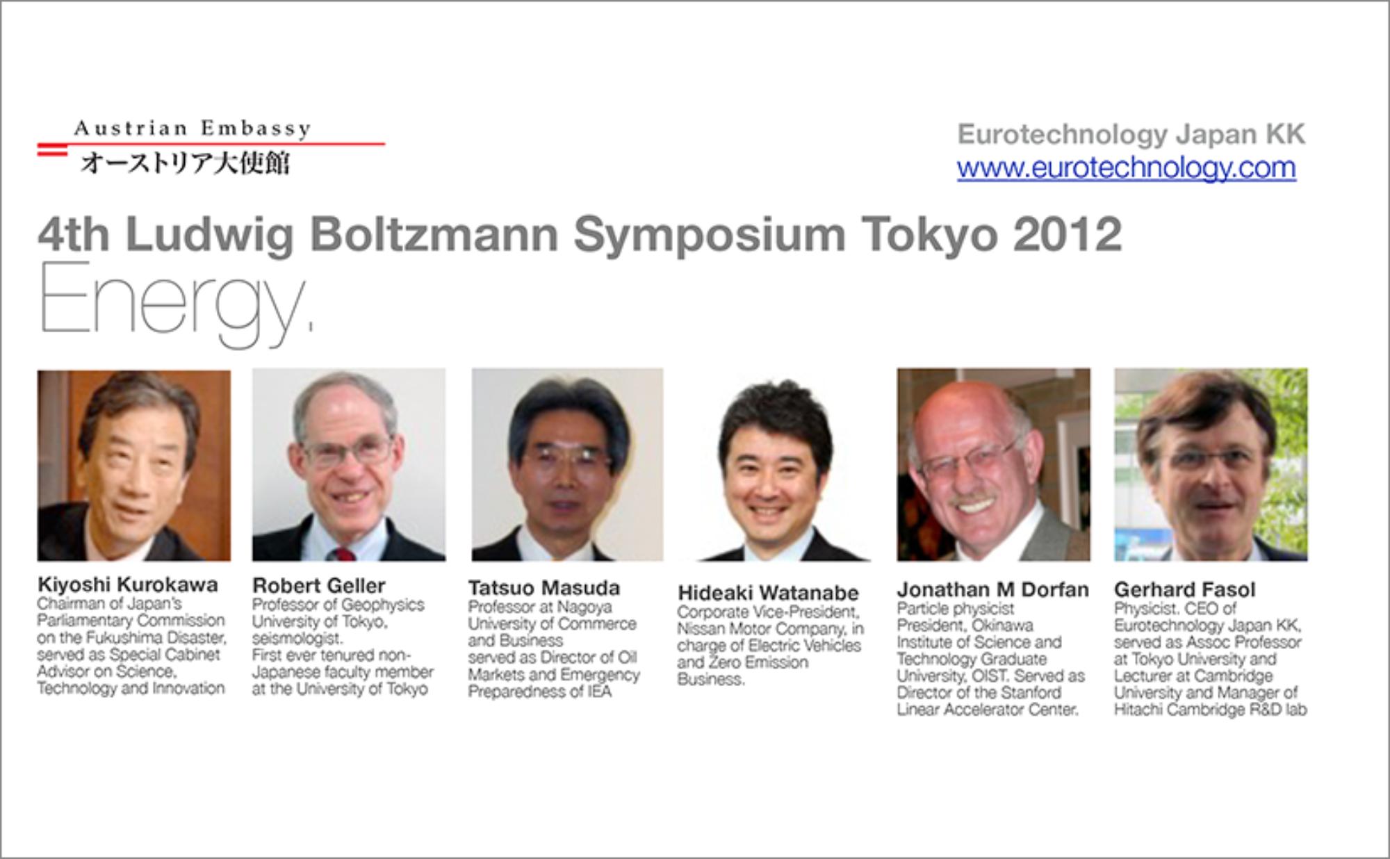 Ludwig Boltzmann Forum 2012
