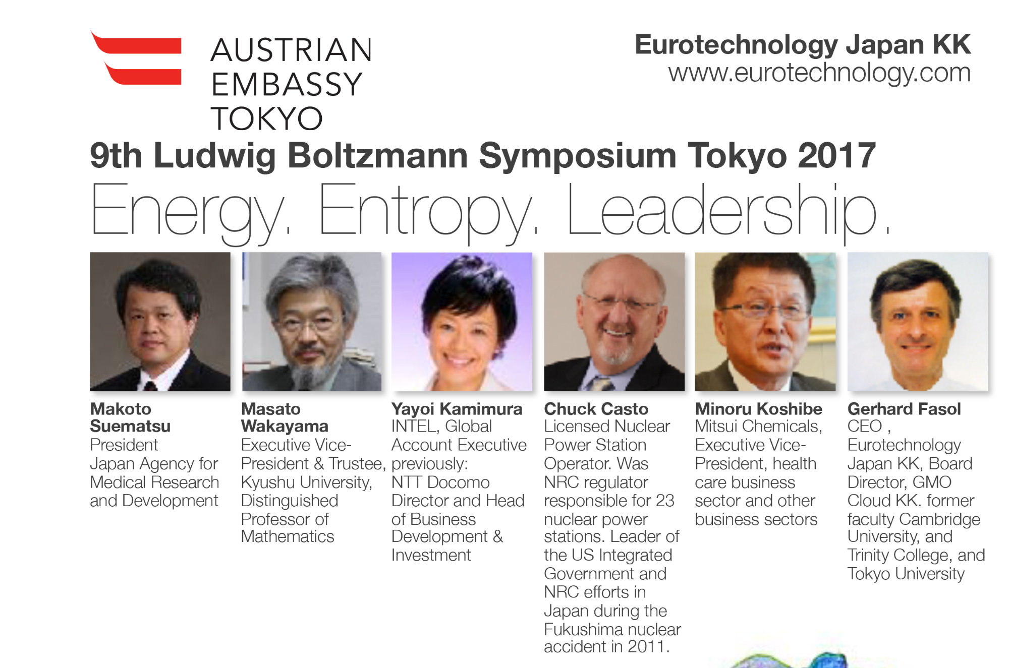 9th Ludwig Boltzmann Forum 2017