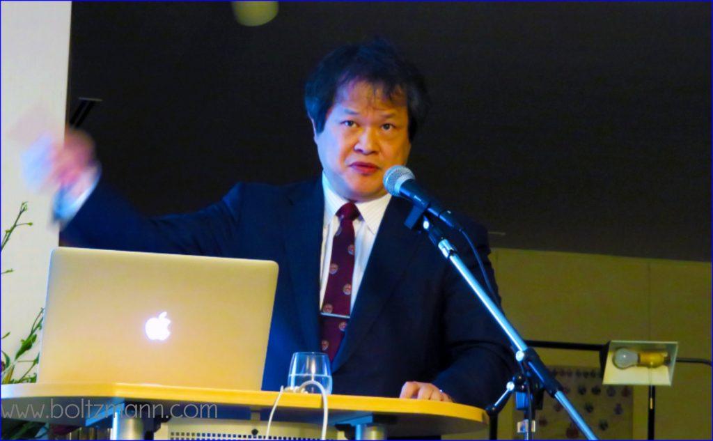 Makoto Suematsu boltzmann.com