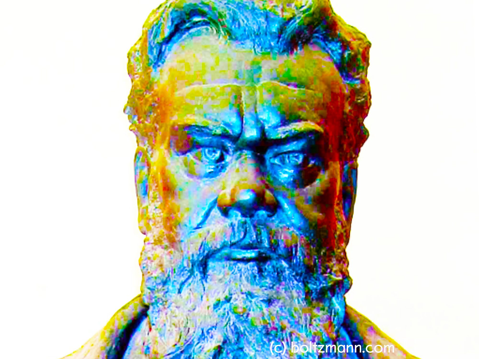 Ludwig Boltzmann. Measure information.