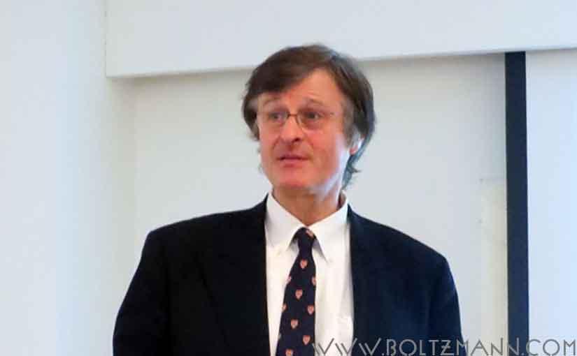 Gerhard Fasol: Entropy and information and Ludwig Boltzmann
