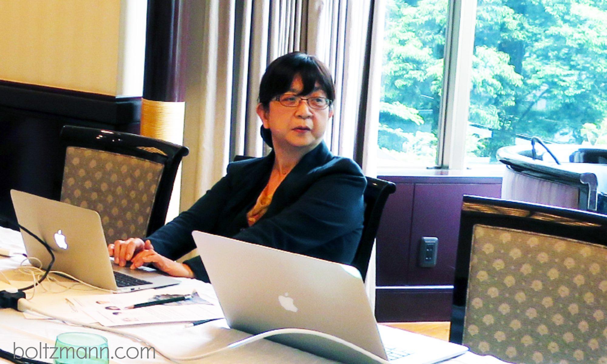 Kiyoko Kato, Professor, Department of Gynecology and Obstetrics, Graduate School of Medical Sciences, Kyushu University