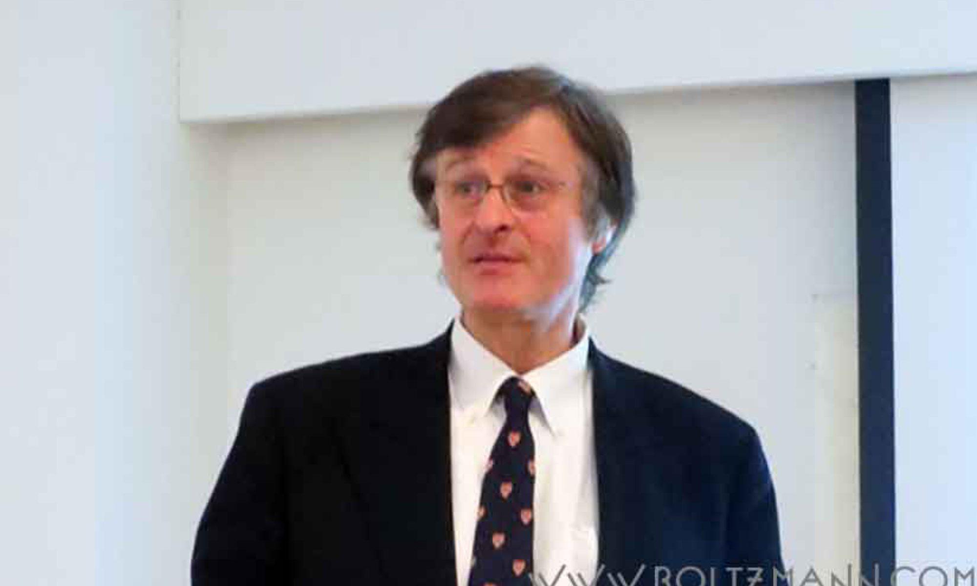 Gerhard Fasol: Entropy, information and Ludwig Boltzmann