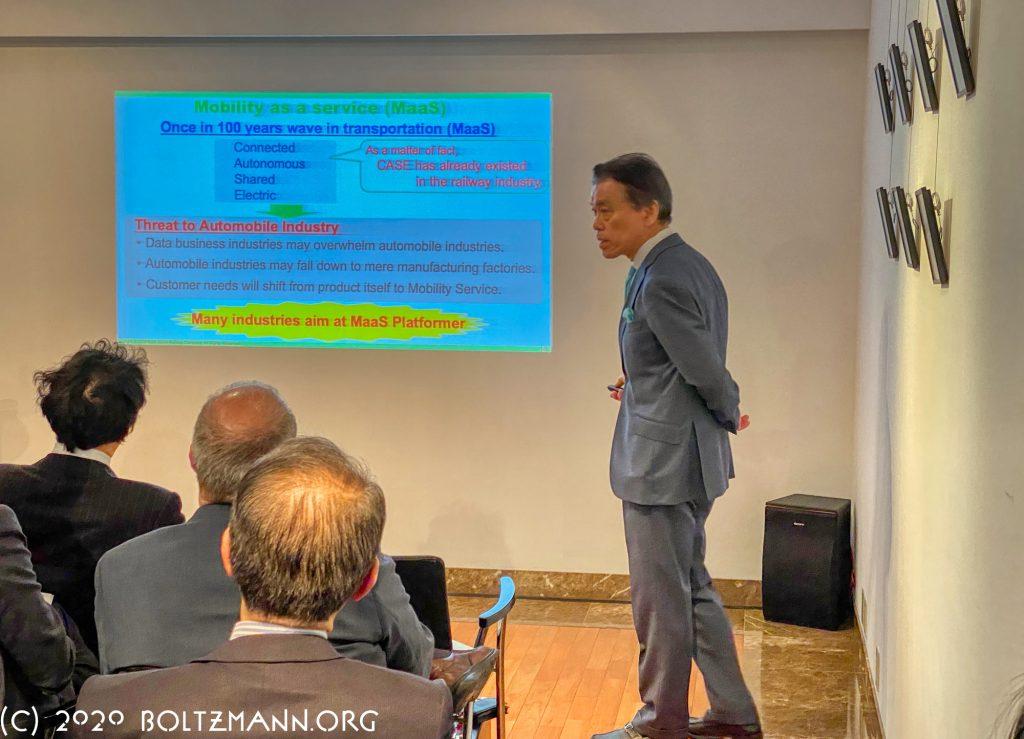 12th Ludwig Boltzmann Forum Tokyo 2020