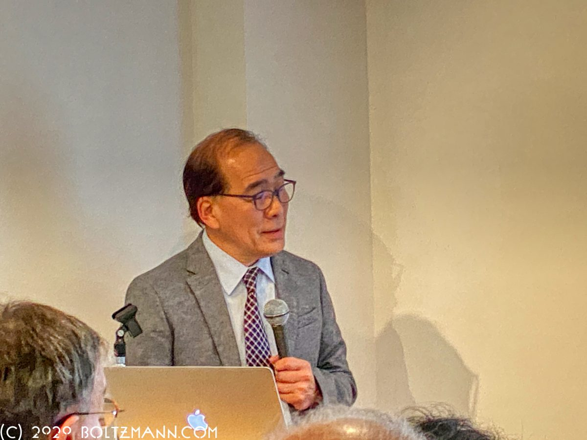 Hiromitsu Nakauchi: Stem cell technology and its potential for future medicine, Ludwig Boltzmann Forum, 20 February 2020
