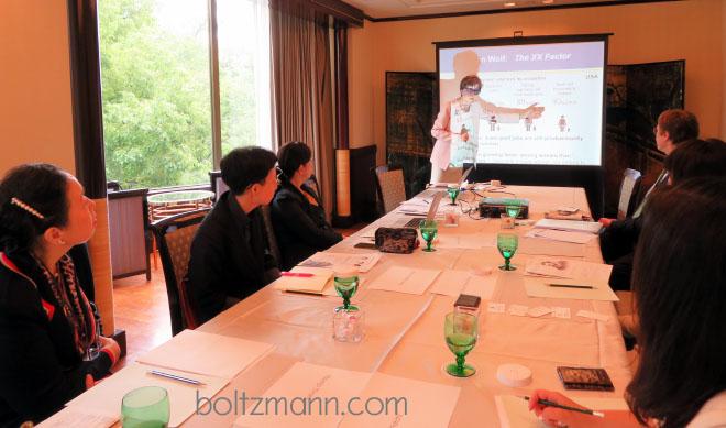 ルートヴィッヒ・ボルツマン・フォーラム「女性のキャリア開発とリーダーシップ」