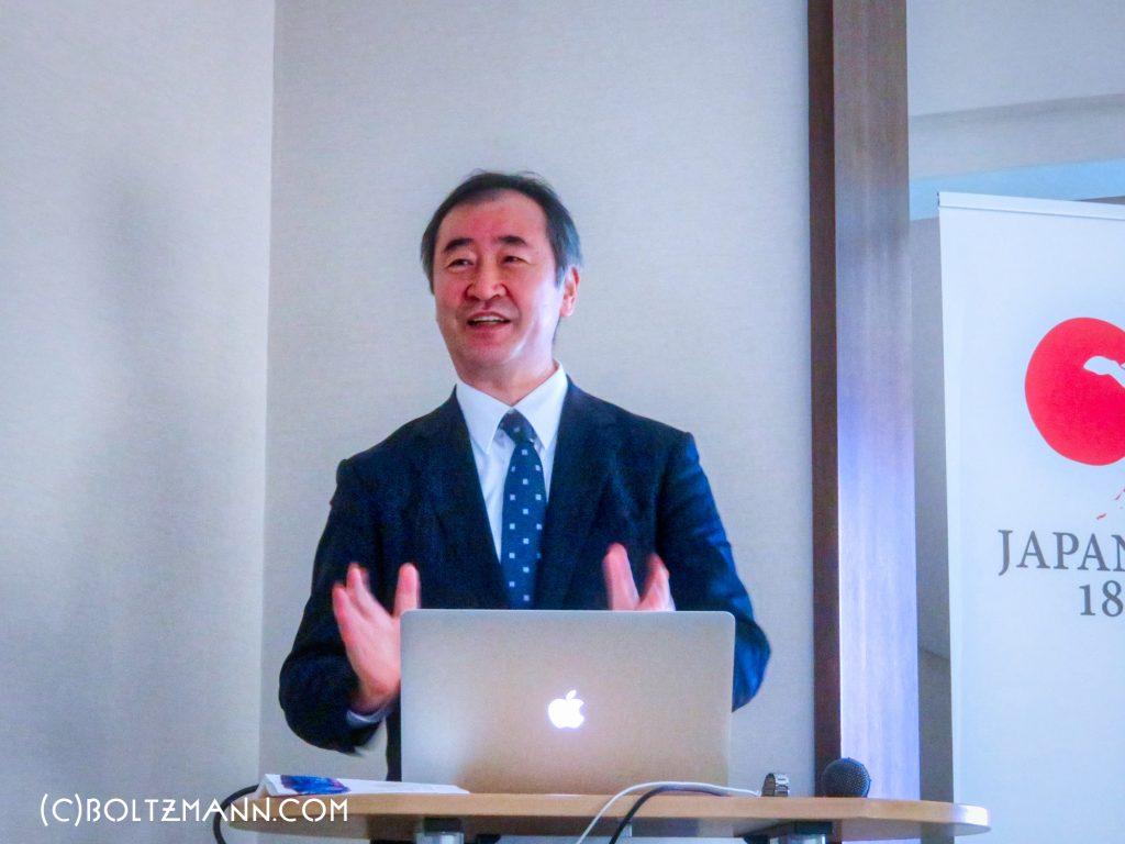 梶田隆章「神岡でのニュートリノの研究と大きな施設を用いた日本の基礎科学研究の現状」