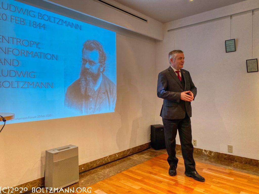 在日オーストリア大使、HEフーベルト・ハイッス
