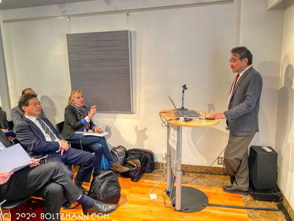 2020年の第12回ルートヴィッヒ・ボルツマン・フォーラム。柳沢正史「睡眠覚醒の謎に挑む~睡眠医科学の社会実装を見据えて~」